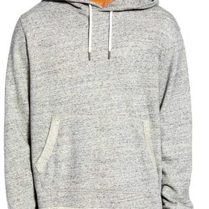 Madewell Marled Light Grey Sweater Hoodie